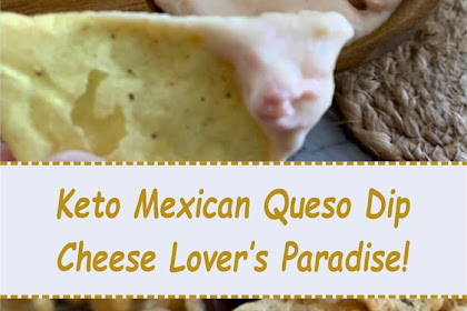 Keto Mexican Queso Dip—Cheese Lover's Paradise!