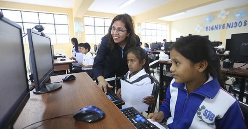 El gobierno garantiza continuidad del proceso educativo de los niños y jóvenes del país, sostuvo el presidente del Consejo de Ministros, Pedro Cateriano