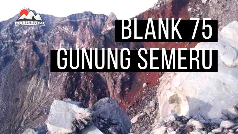 Agar Tidak Tersesat Di Blank 75 Gunung Semeru Indonesia Survival Blog Belajar Bertahan Hidup Di Alam Bebas