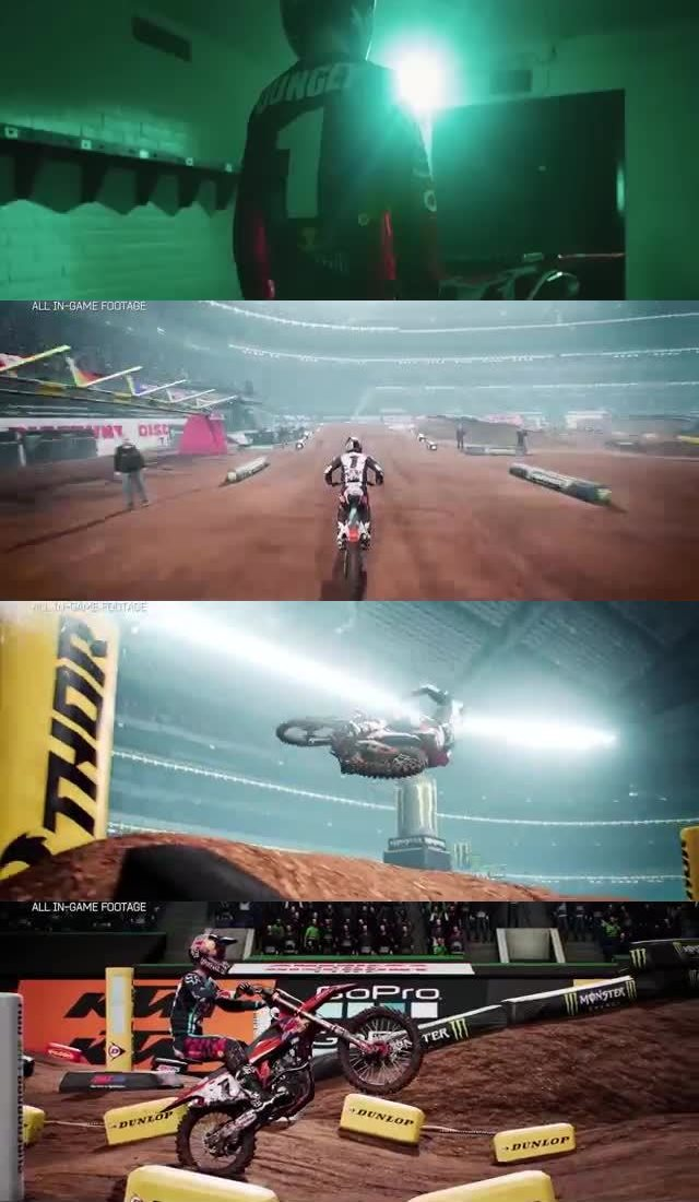 50 UPCOMING NINTENDO SWITCH GAMES OF 2018 3. Monster Energy Supercross