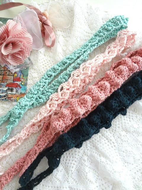 Summer Headbands – crochet pattern release