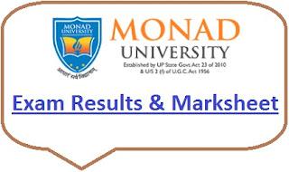 Monad University Results 2020