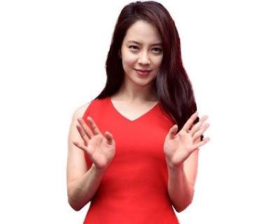 Gaya Rambut Panjang Song Ji Hyo