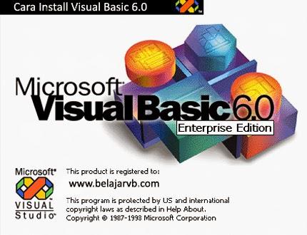 Cara Install Visual Basic 6.0 - www.belajarvb.com