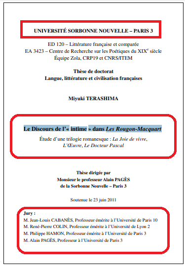 Télécharger Le Discours de l'« intime » dans Les Rougon-Macquart pdf