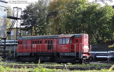 Lokomotywa T448p-137 z DB Schenker Rail Polska