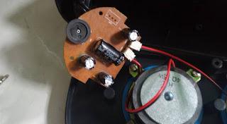 PCB Inside Spekaer Aktif USB