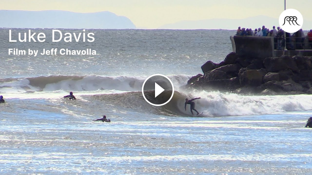 Luke Davis Surfing Highlights in California by Jeff Chavolla