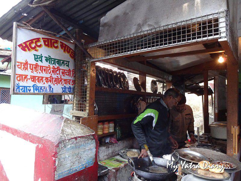 Eating joint at Jageshwar Dham Uttarakhand