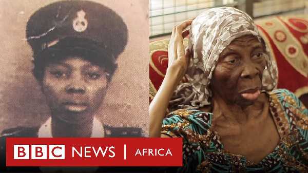 Ghana's first-ever woman police recruit passes on