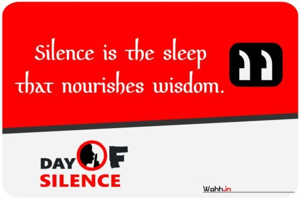 Day of Silence  Wishes Greetings
