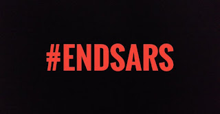 VIDEO: Peaceful #EndSARS protesters singing the Nigerian national anthem while being shot at