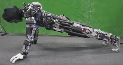 Ρομπότ κάνει πους απ και... ιδρώνει