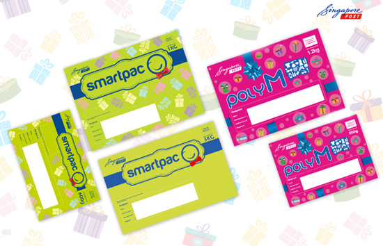 SingPost Launched Limited Edition Festive Prepaid Mailers ...