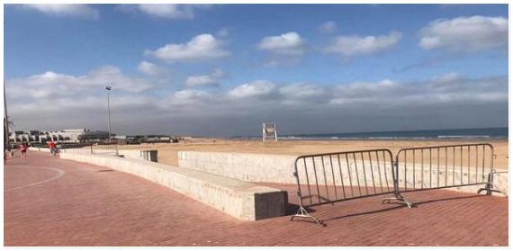 سلطات اكادير تعيد فتح الشواطىء وتقرر اجراءات جديدة