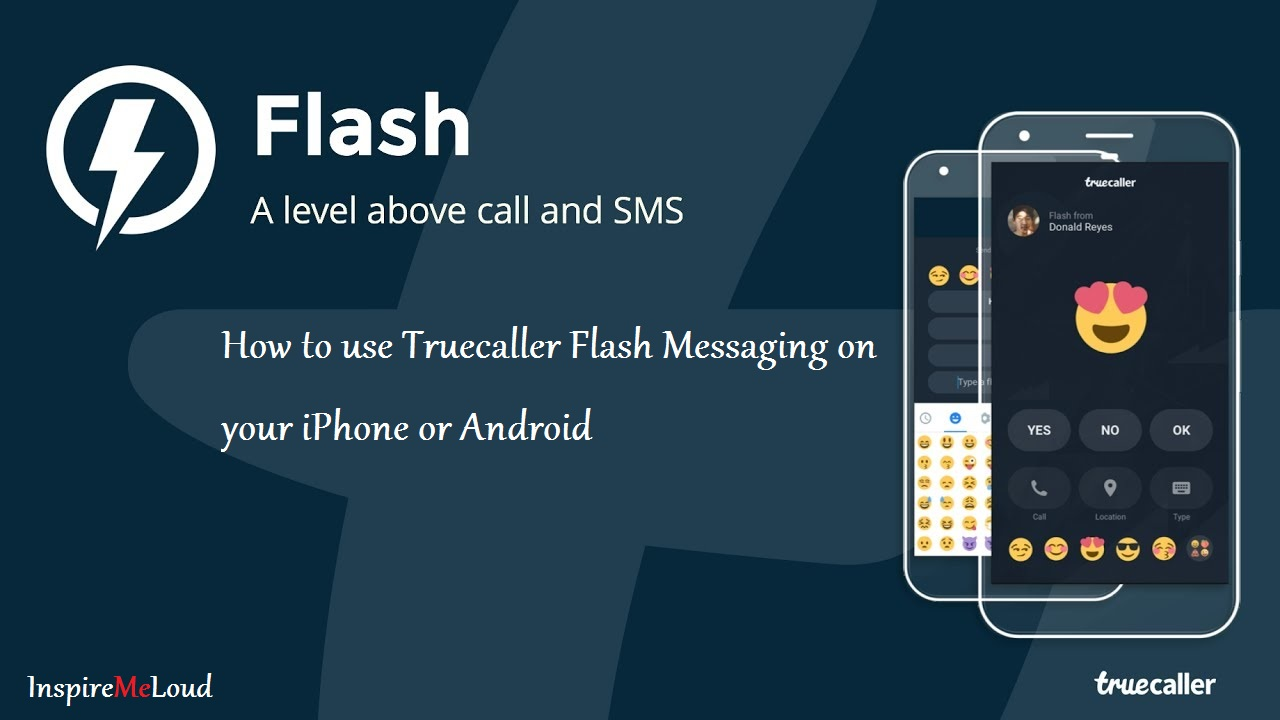 Android or iPhone Me Truecaller Flash Messaging Ka Use Kaise Kare