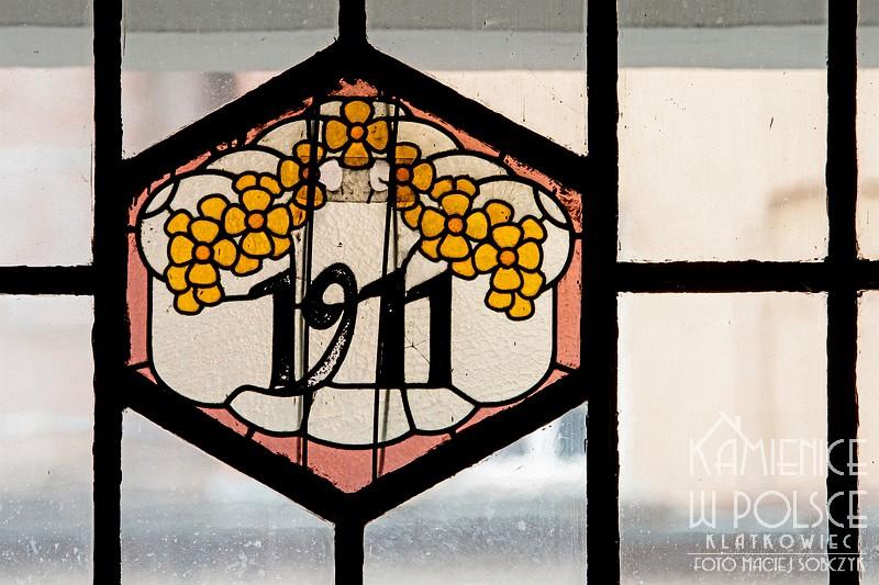 Milicz: 1911 - witraż