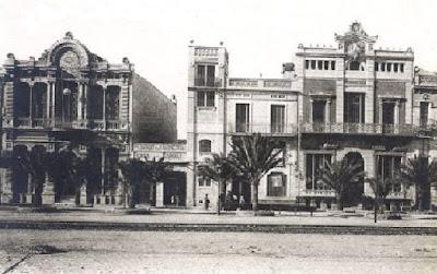 Fachada antigua de la sede del Coro de Marina (Adosado a su derecha el cinematógrafo Mary)