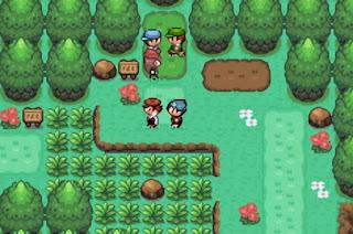 Pokemon Islas del Viento para GBA Jovenes Entrenadores y Profesor Quercus