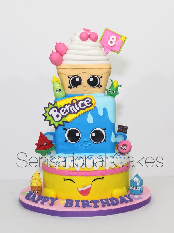 how to make shopkins cuocake queen birthday cake