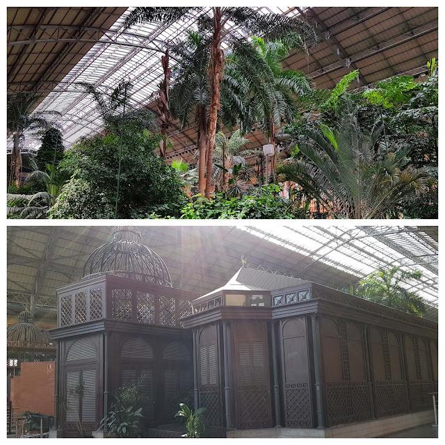 10 Lindas estações de trem, Atocha em Madri