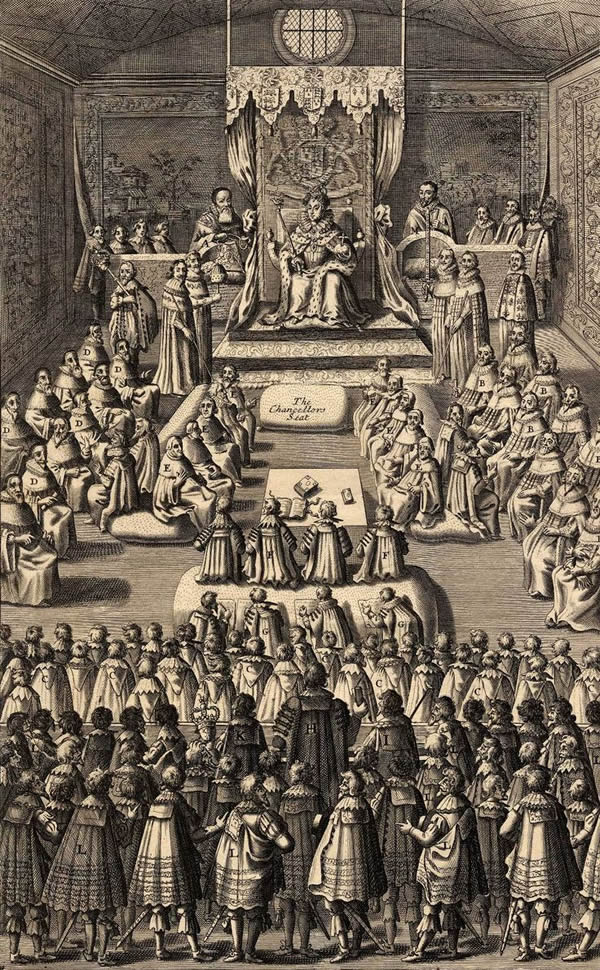 Queen Elizabeth I in Parliament