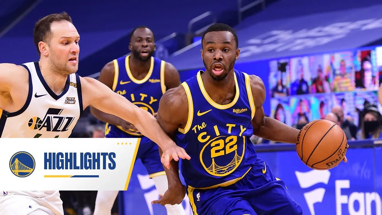 Andrew Wiggins 28pts vs UTA   March 14, 2021   2020-21 NBA Season