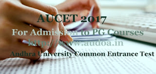 AP AUCET 2017 : Notification, Exam date, Online Application form, Registration, Exam pattern, Fee, Eligibility, How to Apply-Application form, Registration, Last date, Important dates