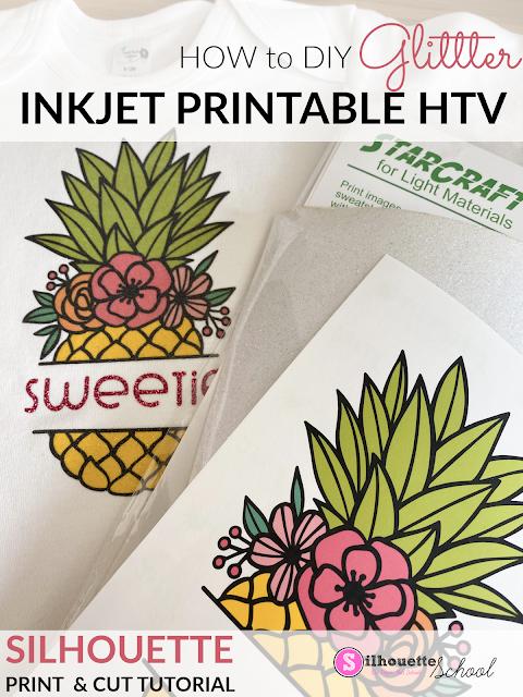 silhouette 101, silhouette america blog, heat transfer vinyl, cameo 3, cameo 4