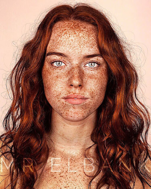 Green Pear Diaries, fotografía, retratos, Brock Elbank, Freckles