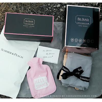 summer and peach, PMS starter kit, kit untuk masalah PMS, masalah PMS, cara kurangkan masalah PMS