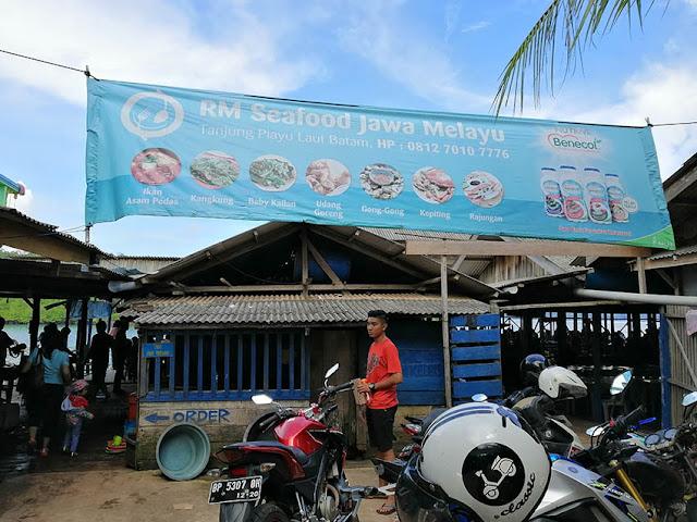 RM Sea Food Jawa Melayu Tanjung Piayu Batam
