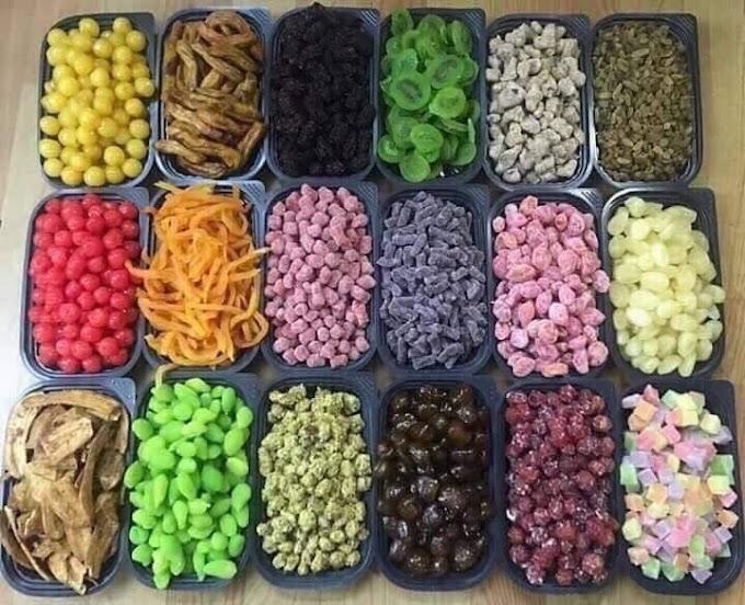 Mứt trái cây và những lợi ích cho sức khỏe