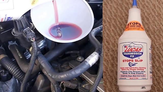 Lucas Transmission Fix: Des additifs pour protéger votre moteur