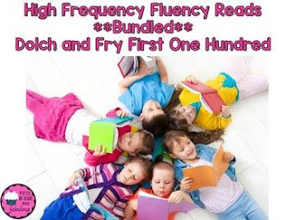 High Frequency Words Fluency Reads