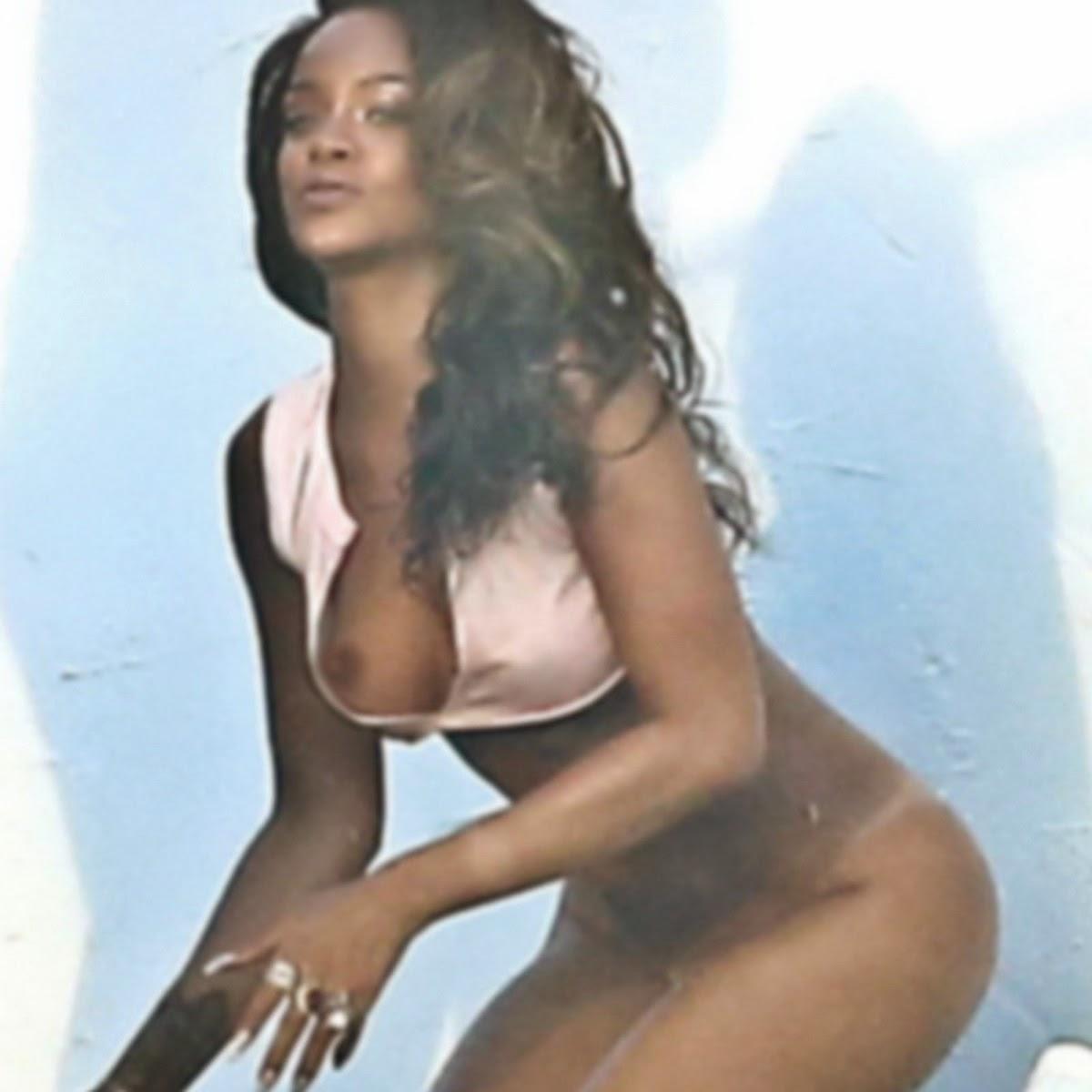 Rihanna Nude Boobs 102