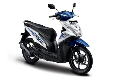 All New Honda BeAT Sporty eSP CBS Funk White.