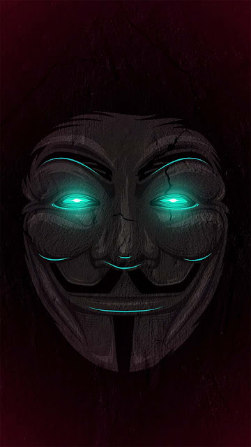 19 Mask Man Dark Night Neon Wallpapers HD for iPhone and Android