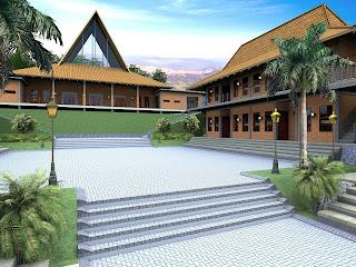 Jasa Desain Pondok Pesantren Modern di Ngasem