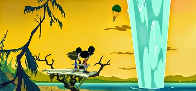 Animated Spider Wallpaper Camp Lakebottom Mcgee And Gretchen Film Animation Cartoon Hd