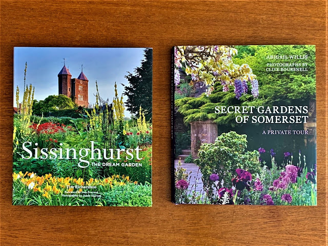Explore famous English Gardens: Sissinghurst and Somerset Book Reviews