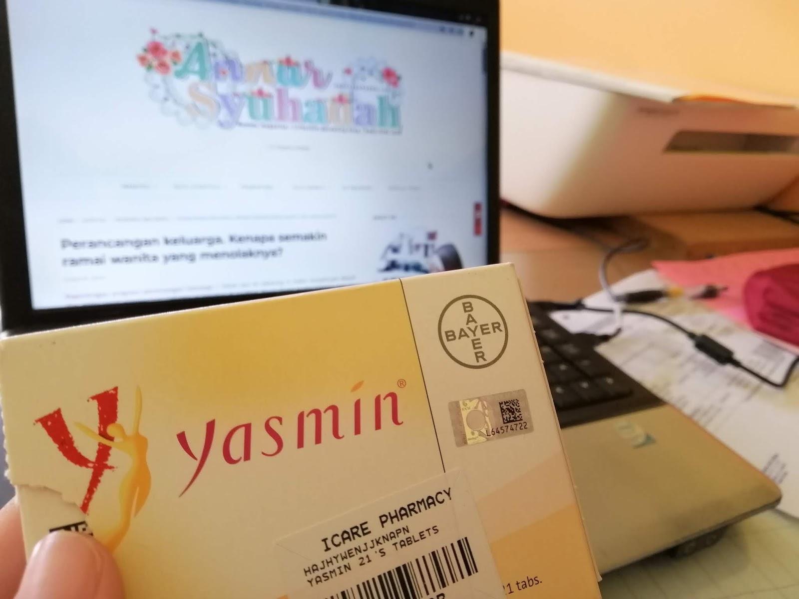 cara makan pil perancang yasmin kali pertama, cara ambil pil yasmin dengan betul, ubat perancang untuk ibu menyusu