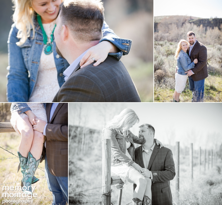 Yakima River Canyon Engagement - Melissa and Michael