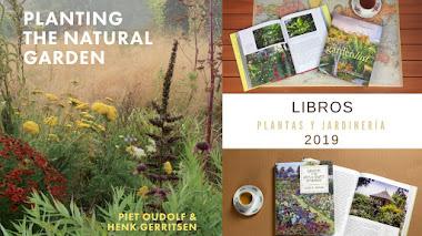 Libros de plantas, jardinería y diseño de jardines comentados en 2019