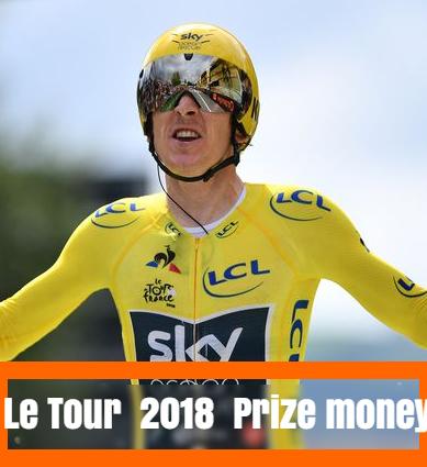 Tour de France, le tour, 2018, 2017, prize money, purse,   Riders, teams, Payout, Winners Share.