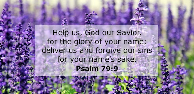 Help us, O God our Savior, for the glory of your name; deliver us and forgive our sins for your name's sake.