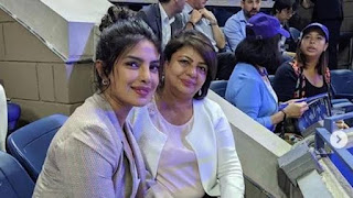 PriyankaChopra, mom Madhu cheer for Serena Williams as she clinches historic 100th...