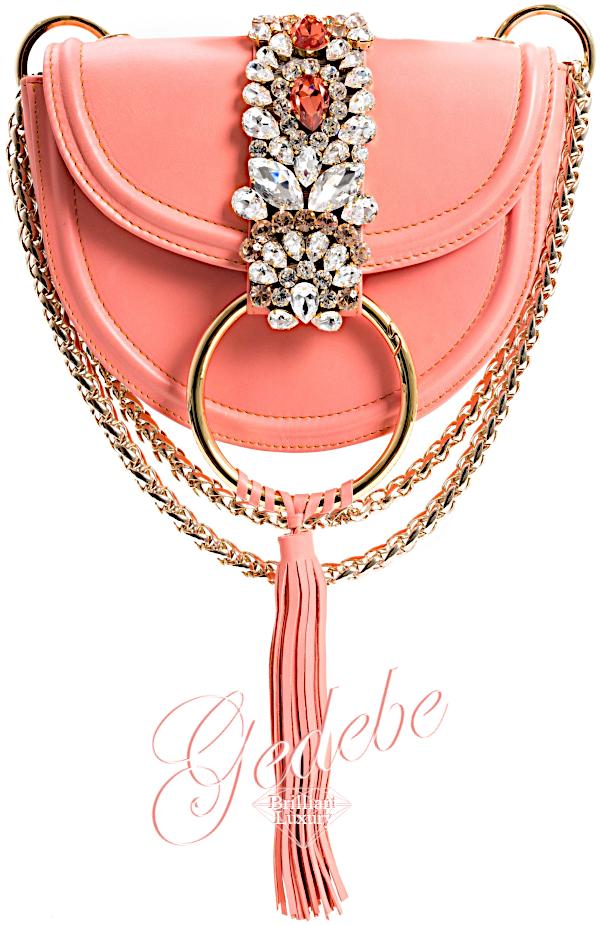 Brilliant-Luxury-Gedebe-Bejeweled-Mini-Brigitte-Nappa-Peach-Metal-Clutch-bags-accessories-2019