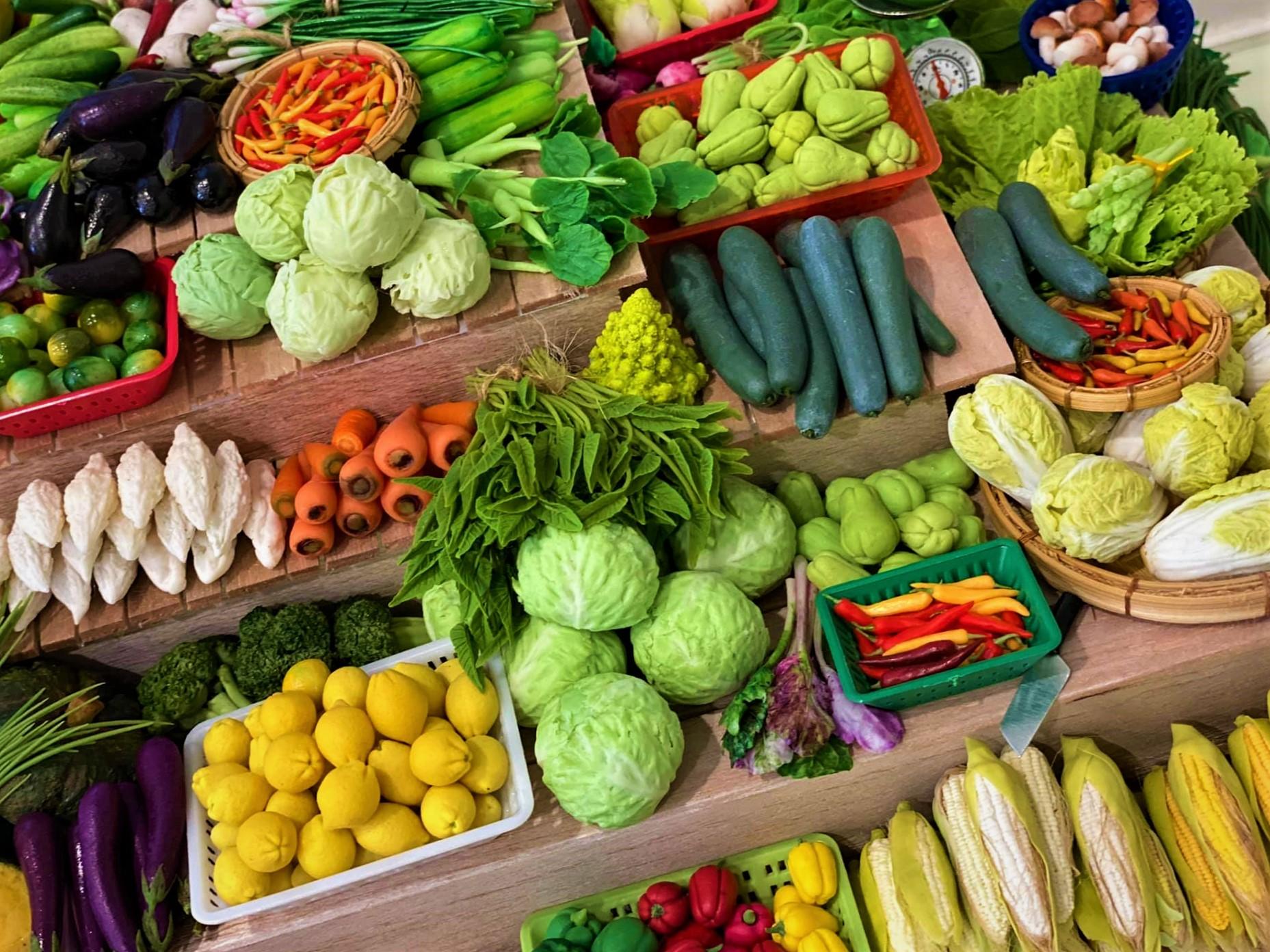 Cách chọn rau củ quả tươi ngon