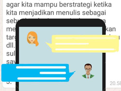 Seminar cara menulis online